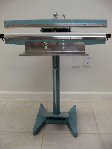 Jorestech 26 Quot Impulse Foot Sealer Pedal Bag Closer Kit