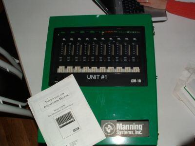 Manning Systems Gas Monitor Gm 10 Alarm Ammonia Nh3