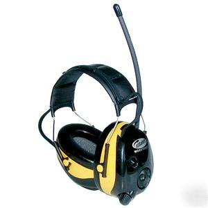 Ao safety peltor worktunes am/fm hearing headsets