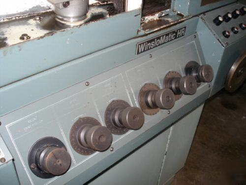Giddings Amp Lewis Hr Winslowmatic Drill Point Grinder