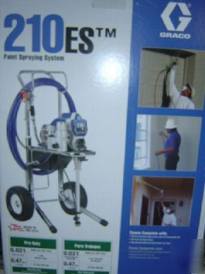 New Graco 210es Hi Boy Airless Paint Sprayer Sealed
