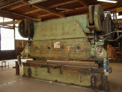 300 ton cincinnati series 120 mechanical press brake