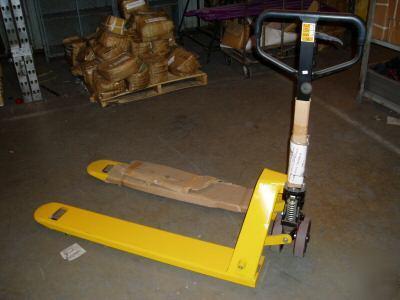 Industrial Pallet Jack Hydraulic Forklift Fork Lift
