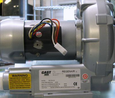 New gast regenair model R2103-24 vacuum pump