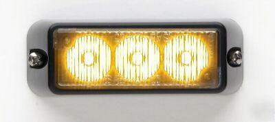whelen tir3 dash deck grill led light rsa03zcr. Black Bedroom Furniture Sets. Home Design Ideas