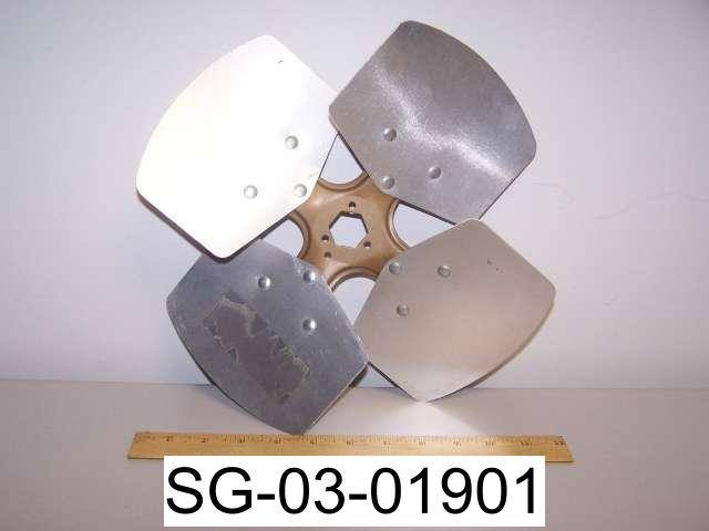 Replacement Metal Fan Blades : New quot aluminum fan blade replacement propeller
