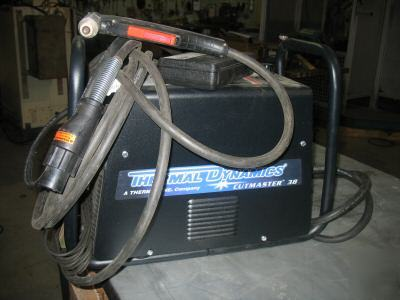 Thermal dynamics cutmaster 38 plasma cutter demo unit