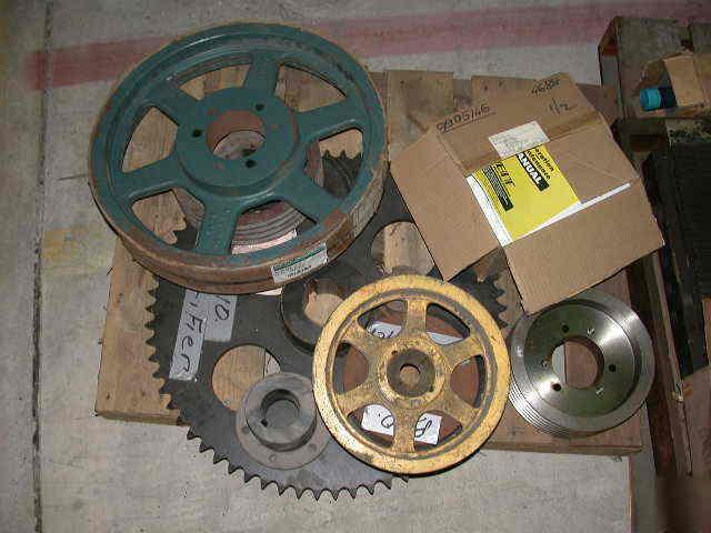 Industrial electric motor pulleys gears wheels for Electric motor repair new jersey