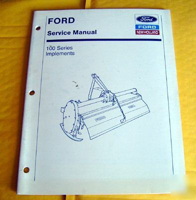 ford 100 series 105a tillers service manual rh repair parts com Ford Rototiller Parts Ford 105A Tiller Parts