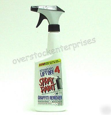 spray bottle of lift off spray paint graffiti remover. Black Bedroom Furniture Sets. Home Design Ideas