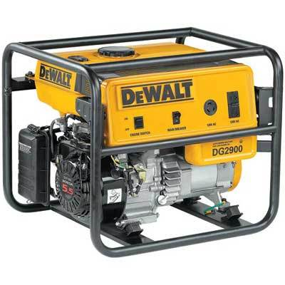 New Dewalt 2900 Watt 5 5hp Gas Powered Generator Dg2900