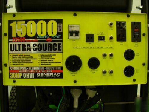 Best Snow Tires >> Generac ultra source model 04582 15,000 watt generator