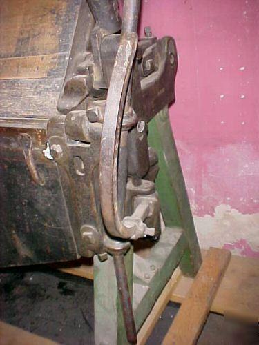 Vintage Sheet Metal Brake Must See To Appreciate