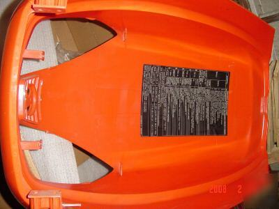Used Tractors For Sale >> kubota excellant condition GR2100 tractor hood