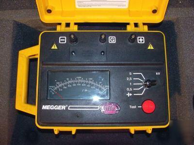 Megger Biddle Insulation Resistance Tester 5kv Bm11