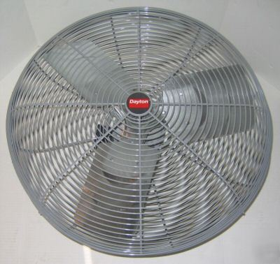 New Dayton Fan 5m194 Air Circulator 24 Quot 6000 Cfm 277v