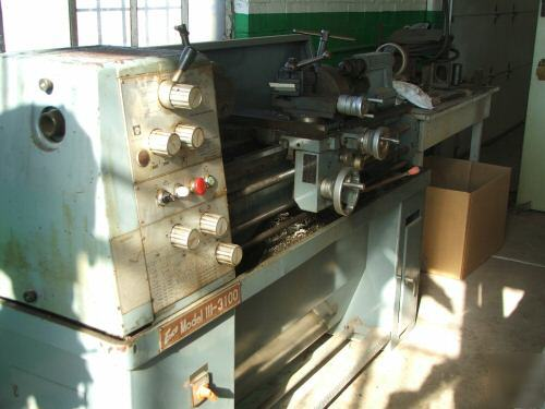 "Used Milling Machine >> Enco lathe model 111-3100 13"" x 40"" many accessories"