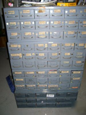Equipto 18 Drawer Parts Cabinet