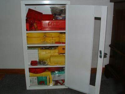 Prinzing Lockout Tagout Station Cabinet Stockd Lock Out