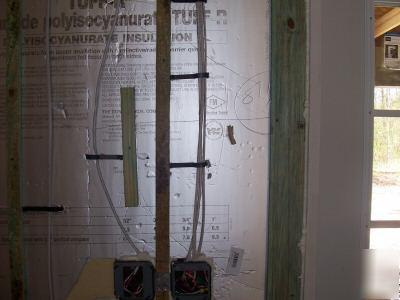 Romex Wire 100 Standoff Clip Fasteners