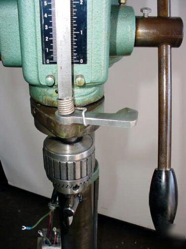 Arboga Gl2508 Floor Drill Press 12 Quot Throat 1 1 4 Quot Cap