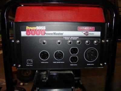 Used Welders For Sale >> New generac 8000 watt power boss power master generator