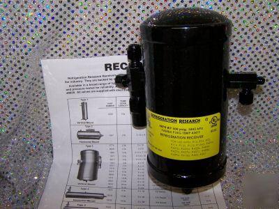 Receiver Liquid Refrigeration Vertical Mount 1920