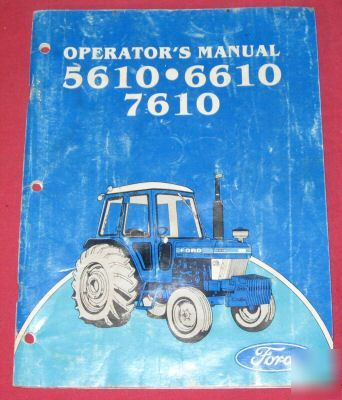 ford nos    tractors owners manual