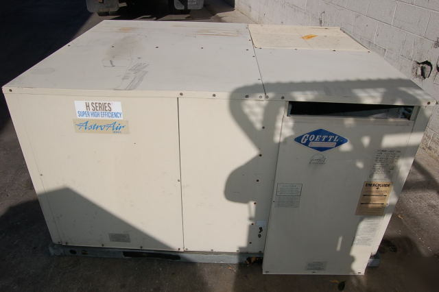 Goettl Air Conditioner A  C 5 Ton Unit Gas Heat La Calif