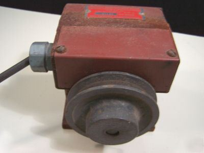 For Sale: Tachometer generator and meter eaton mfg.