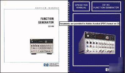 Agilent Hp 3314a Hp3314a Operation And Service Manuals
