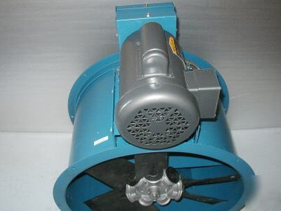 24 Tube Axial Tubeaxial Spray Paint Booth Exhaust Fan