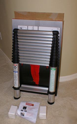 Telesteps 12 5 Ft 300 Pound Duty Rating Aluminum Ladder