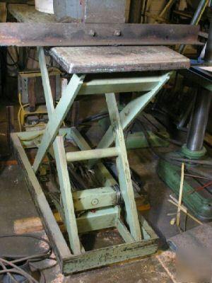 Southworth Scissor Lift Table