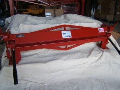Portable Sheet Metal Brake Bender 40 Inch 18 Gauge Usa