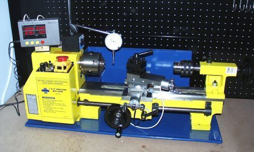 3 axis mini lathe digital readout dro with tachometer