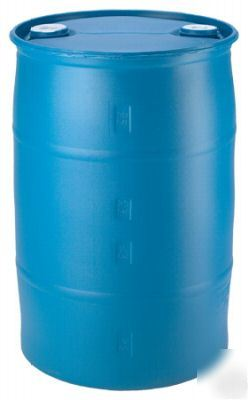 New Water Barrel Plastic Barrel 30 Gal Drum Th